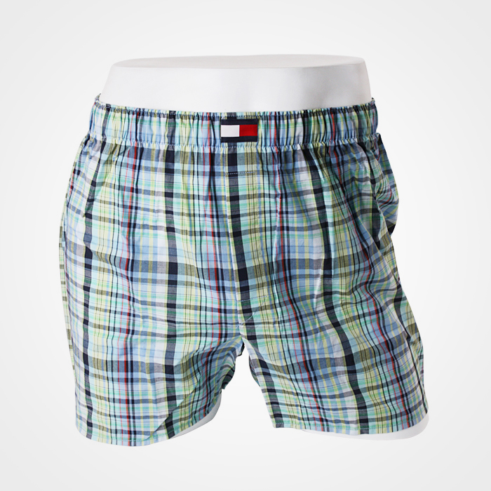 -Tommy Hilfiger- 88127 Cotton Trunk (Blue)