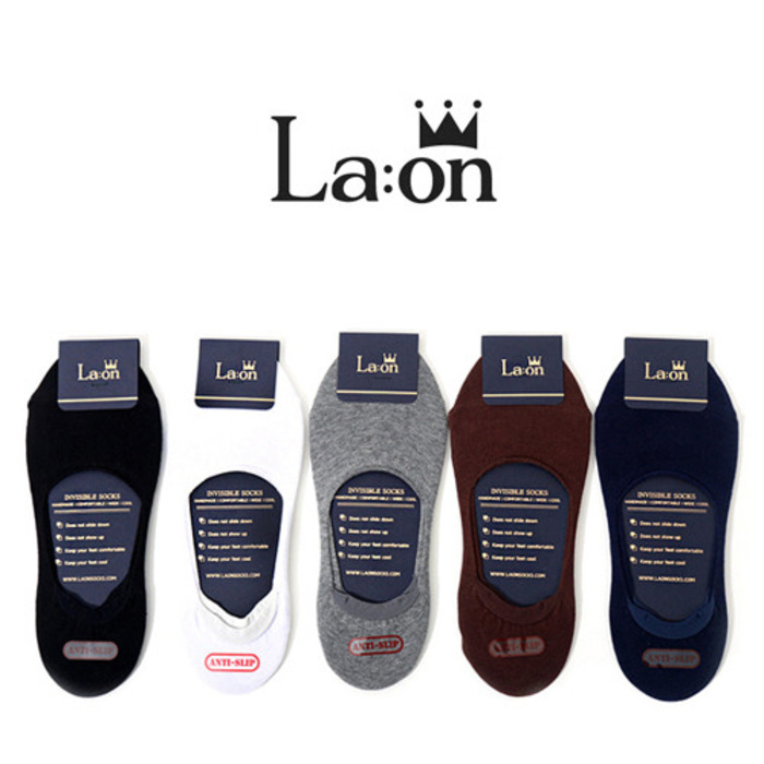 -La:on-88195 Fake Socks (5Color)