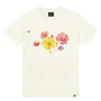- THE SHIRTS -79710 water_flowers 라운드 반팔 티셔츠 (3Color)
