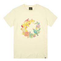 - THE SHIRTS -79717 camellia 라운드 반팔 티셔츠 (3Color)
