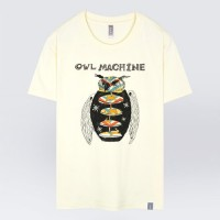 - THE SHIRTS -91404 owl machine 반팔 티셔츠 (3Color)