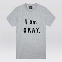 - THE SHIRTS -91413 i am okay 반팔 티셔츠 (3Color)