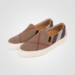 92961 HM-RS059 Shoes (Check Brown)
