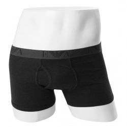 -EMPORIO ARMANI- 94053 Gunuine Cotton Trunk 111867 (Dark Black)
