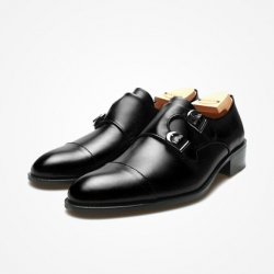 94781 Premium FA-191 Monk strap Shoes (5Color)
