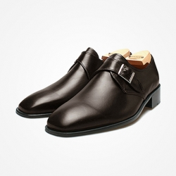 94785 Premium FA-195 Monk strap Shoes (3Color)