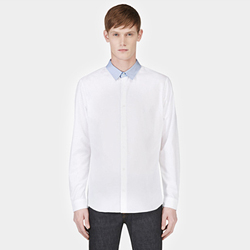 94772 No.29-B 프리미엄 배색카라 셔츠 (2Color)