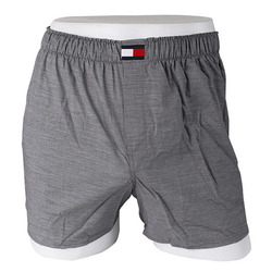 -Tommy Hilfiger- 88140 Cotton Trunk (Gray)