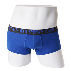 -EMPORIO ARMANI- 88698 Strech Cotton Trunk (M-Blue)