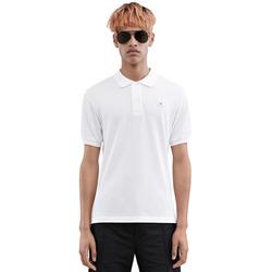 95132 AC 사각페이스 패치 PK 티셔츠 (2Color)