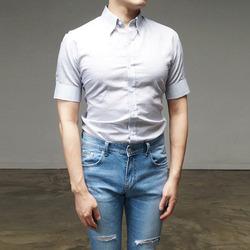 95609 프리미엄 한산모시 1/2 셔츠 (4Color)