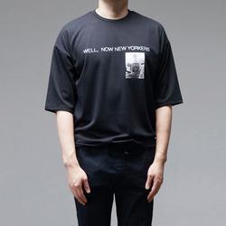 95791 플레이걸 나염 하프슬리브 티셔츠 (2Color)