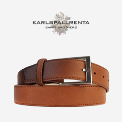 -K.S- 83837 italy real leather  리얼태닝 클래식 벨트 (Tan)